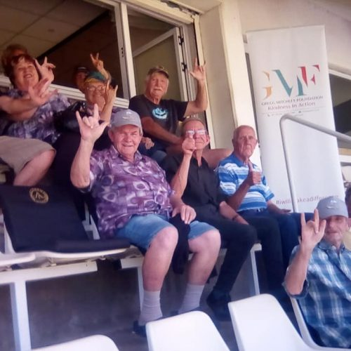 Wanderers Cricket With The Elderly 1